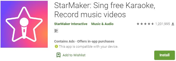 Starmaker for computer