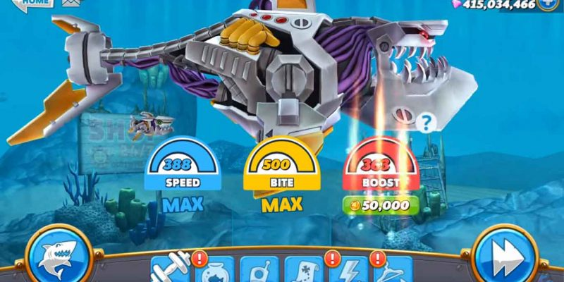 Hungry Shark World Hacked Apk