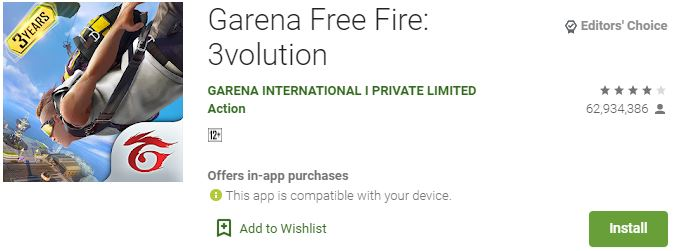 Garena Free Fire for Windows PC