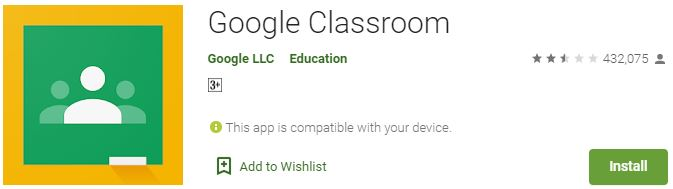 Google Classroom for Windows