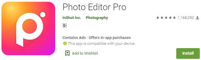 Download Photo Editor Pro for Windows
