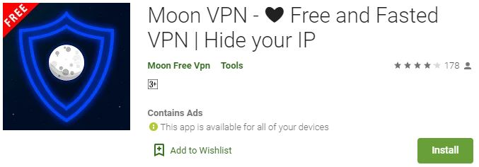 Download Moon VPN for PC